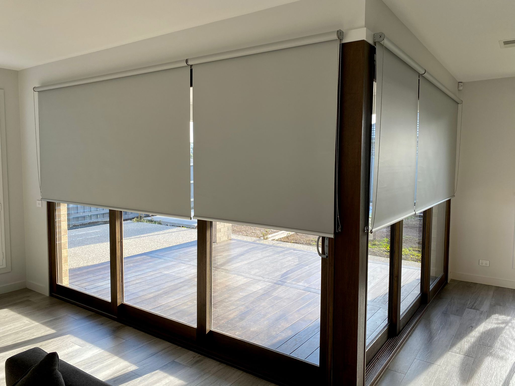 Noise reducing Blinds